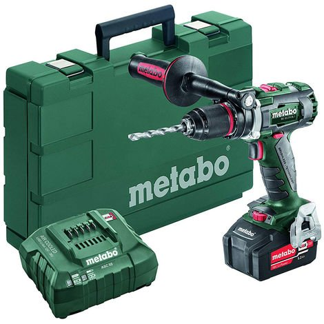 Metabo BS 18 LTX BL I 18V Brushless Drill Driver with 1 x 5.5Ah Battery & Charger