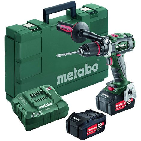 Metabo BS 18 LTX BL I 18V Brushless Drill Driver with 2 x 5.5Ah Batteries & Charger