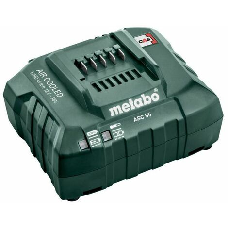 Metabo Chargeur ASC 55, 12-36 V, « AIR COOLED », EU (627044000)