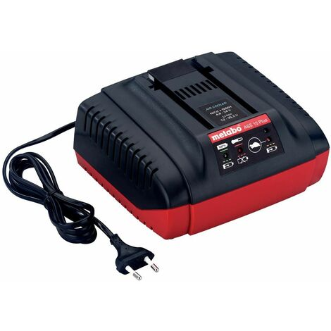 """Metabo Chargeur rapide ASS 15 Plus, 24-25,2 V, """"AIR COOLED"""", EU"""