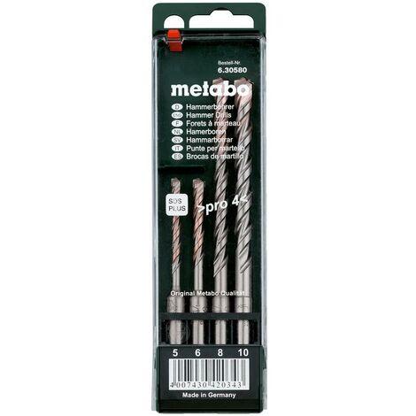 Metabo Coffret de 4 forets SDS-plus Pro 4 - 630580000