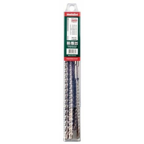 Metabo Coffret de 7 forets sds-plus p4p (626246000)