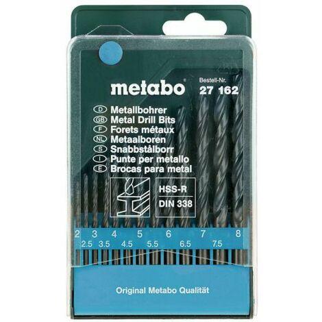 Metabo Coffret de forets HSS-R, 13 pièces (627162000)