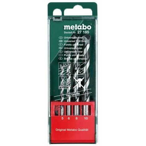 Metabo Coffret de forets universels, 4 pièces (627185000)