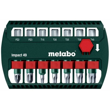 Metabo Coffret d'embouts impact 49 (628850000)