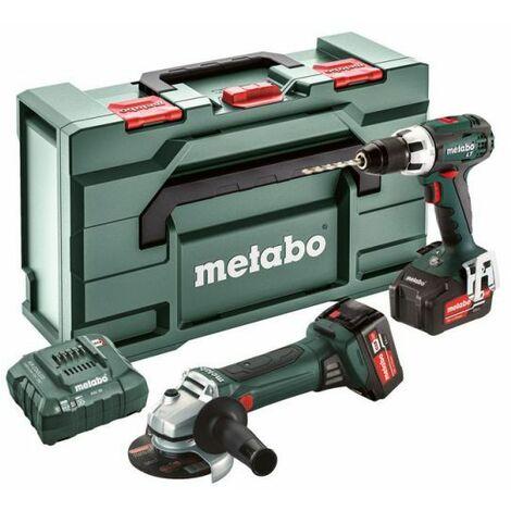 Metabo COMBO SET 2.4.1 18 V (685038000) MACHINES SANS FIL EN SET