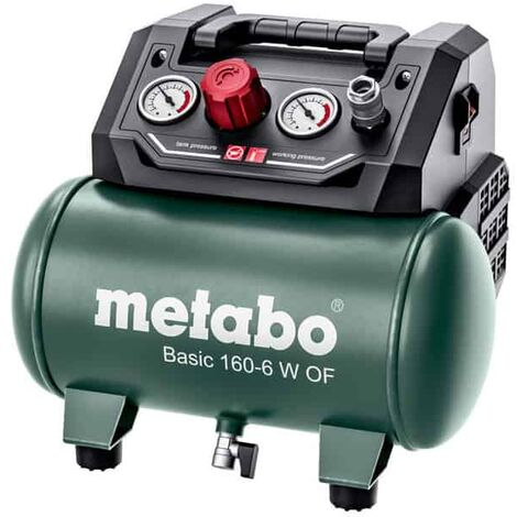 METABO Compresseur à air comprimé Basic Basic 160-6 W OF-601501000
