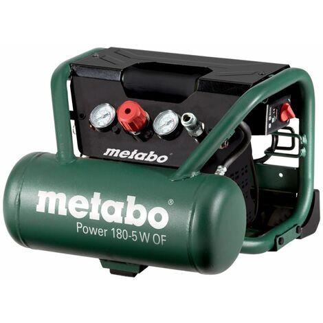Metabo Compresseur ? air comprimé mobile Power 180-5 W DE 5 litres