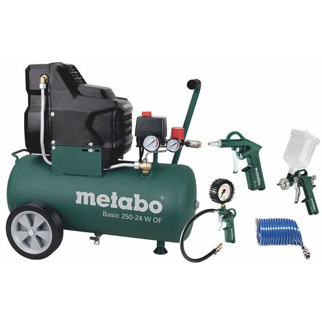 Metabo Compresseur Basic 250-24 OF + LPZ 4 gratuite - 690865000