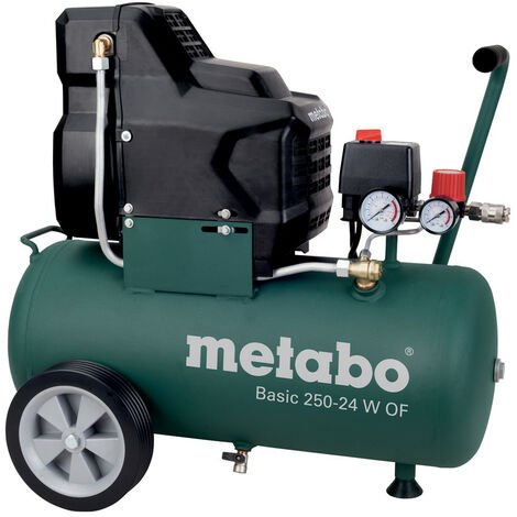 Metabo Compresseur Basic 250-24 W OF 8 Bar 1,5 KW, 24 L- 601532000