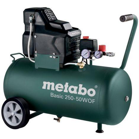 Metabo Compresseur Basic 250-50 W OF 120 L/min, 8 Bar, 1,5 KW - 601535000