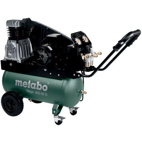 Metabo Compresseur Mega 400-50 D, carton - 601537000