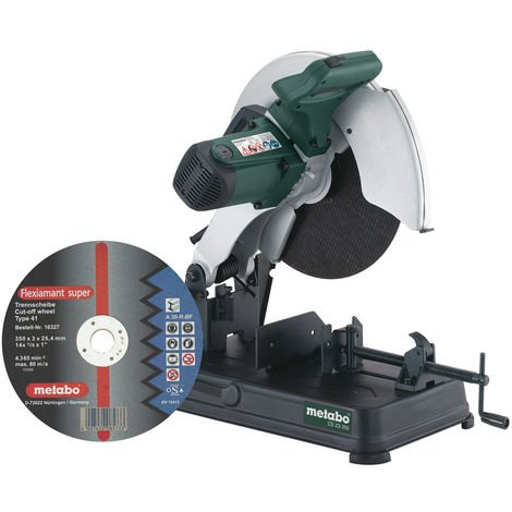Metabo CS 23-355 SET Ingletadora de metal - 2300W - 355mm