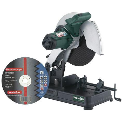 Metabo CS 23-355 SET Scie à métaux - 2300W - 355mm