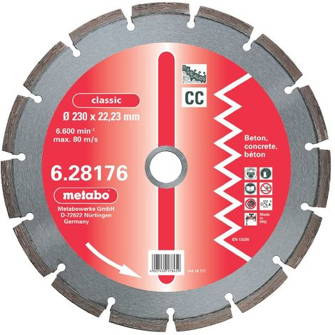 Metabo Disque diamant, 230x22,23mm