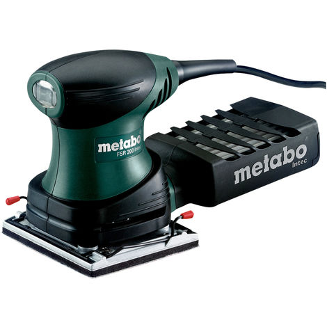 Metabo FSR200 240V 200W Intec 1/4 Sheet Palm Sander 600066590