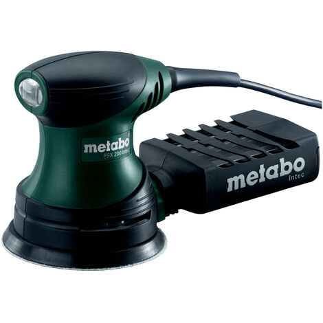 Metabo FSX 200 INTEC (609225500) PONCEUSE EXCENTRIQUE 240 W 125 mm COFFRET