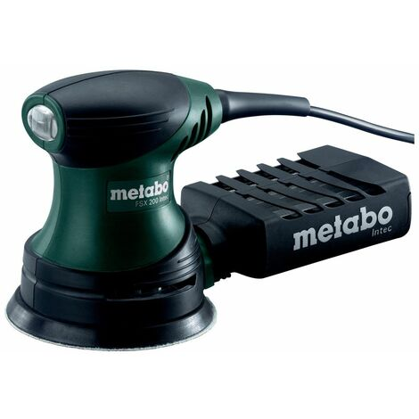 METABO FSX200 PONCEUSE EXCENTRIQUE 240W 125MM + COFFRET