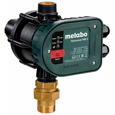 Metabo Hydromat HM 3 - Pressostat électronique avec protection contre la marche ? sec (628799000)