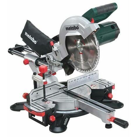 Metabo KGS254M 240v 254mm Dia Sliding Compound Mitre Saw