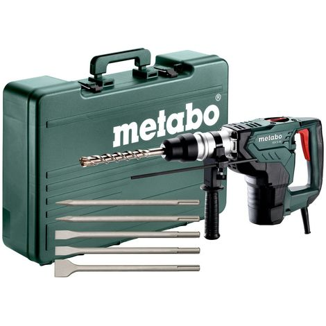 Metabo KH 5-40 SET MARTEAU COMBINÉ 8,5 JOULE 1100 W SDS-MAX 691057000