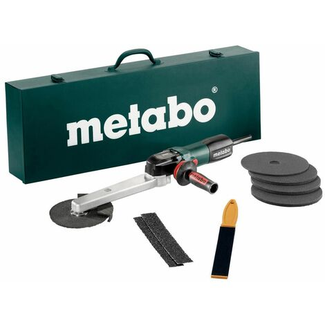 Metabo KNSE 9-150 Set Meuleuses pour soudures d'angle, Coffret en tôle d'acier - 602265500