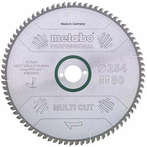 Metabo Kreissägeblatt HW/CT 210x30, 64 WZ, 10°