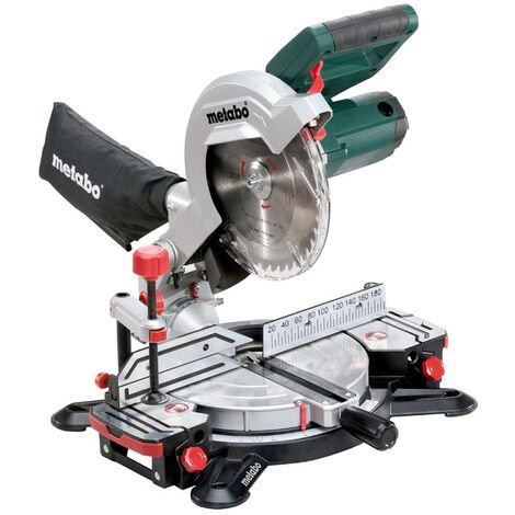 Metabo KS216M Lasercut Compound Crosscut Mitre Saw 240V 619216380:240V