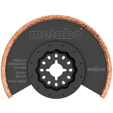 Metabo Lame de scie à segments, joints et enduits, carbure, 85 mm - 626962000