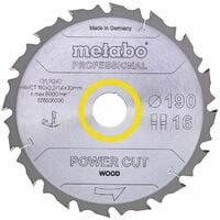 Metabo Lame de scie circulaire HW/CT 160 x 20, 30 WZ 5°