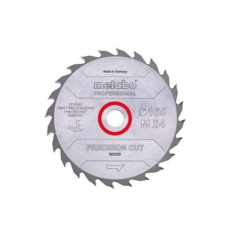 Metabo Lame de scie circulaire hw/ct 167 x 20, 20 wz 20° (628032000)