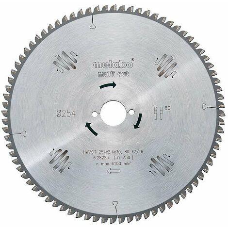 Metabo - Lame de scie circulaire HW/CT 190x2,2x30 mm 56 FZ/TZ - TNT