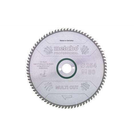 Metabo Lame de scie circulaire hw/ct 210 x 30, 64 wz, 10° (628081000)