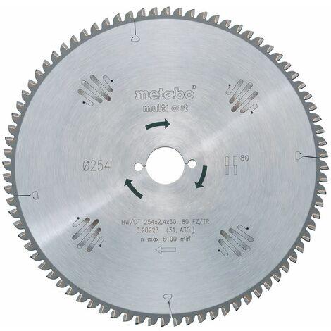 "main image of ""Lame circ. carbure D. 300 x Al. 30 mm. x 96 dents tp pos. - 338TF.300.96 - Leman"""