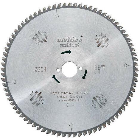 Metabo - Lame de scie circulaire HW/CT 305x2,8x30 mm 96 FZ/TZ