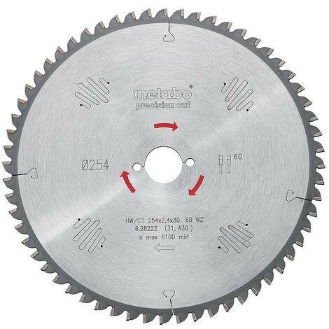 Metabo - Lame de scie circulaire HW/CT 315x2.8x30 mm 84 WZ
