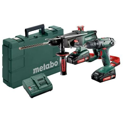 Metabo Machines sans fil en set 2.3.2 18V, 18V, Coffret, BS 18 + KHA 18 LTX - 685083000