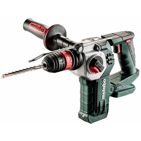 Metabo Marteau perforateur-burineur sans fil KHA 18 LTX BL 24 Quick sans batterie sans changement de chargeur