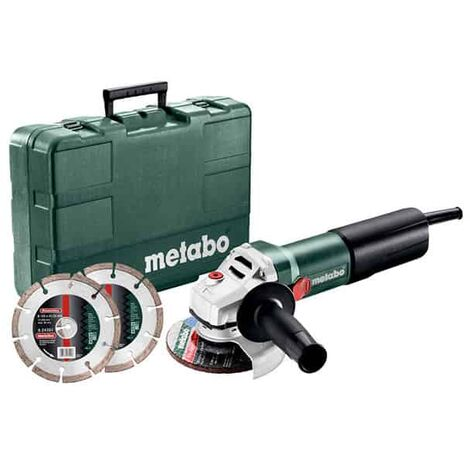METABO Meuleuse 125mm 1400W WEQ 1400-125 SET - 600347510