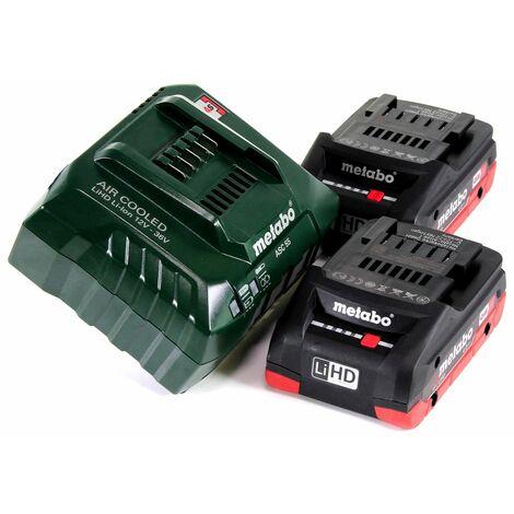 Metabo MT 18 LTX Outil multifonctions sans fil 18V (613021710) - Compatible OIS / Starlock + 2x Batteries 4,0Ah + Chargeur + Coffret de transport