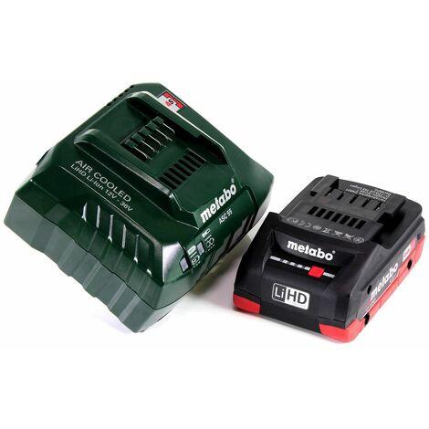 Metabo MT 18 LTX Outil multifonctions sans fil 18V (613021840) - Compatible OIS / Starlock + 1x Batterie 4,0Ah + Chargeur + Coffret de transport