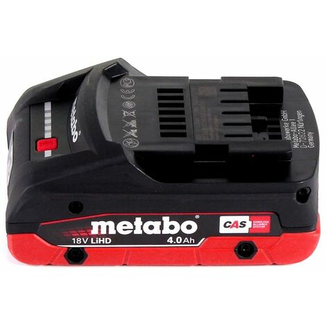 Metabo MT 18 LTX Outil multifonctions sans fil 18V (613021840) - Compatible OIS / Starlock + 1x Batterie 4,0Ah + Coffret de transport - sans chargeur