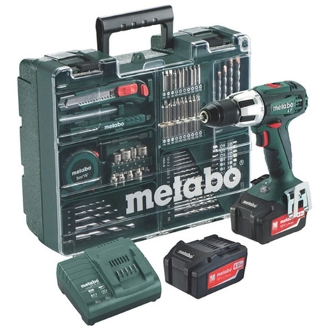 METABO Perceuse à percussion 60Nm 18V 4Ah SB18LT Set - 602103640