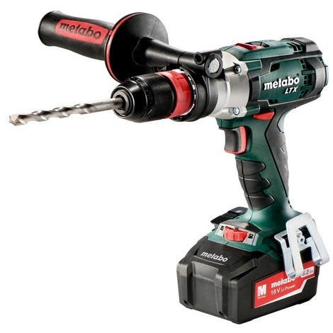 Metabo - Perceuse à percussion à batterie 18V 5.2Ah Li-Ion 110Nm - SB 18 LTX Quick
