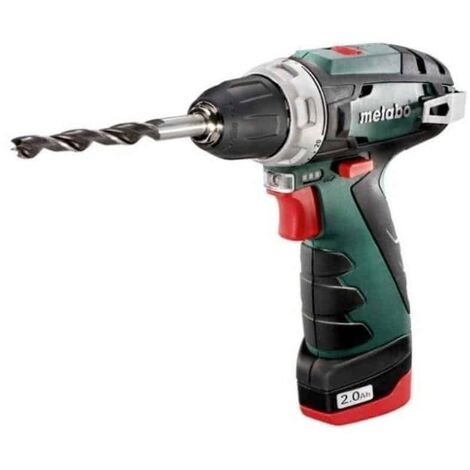 METABO Perceuse visseuse 10,8V 2,0Ah PowerMaxx BSBasic - 600080500
