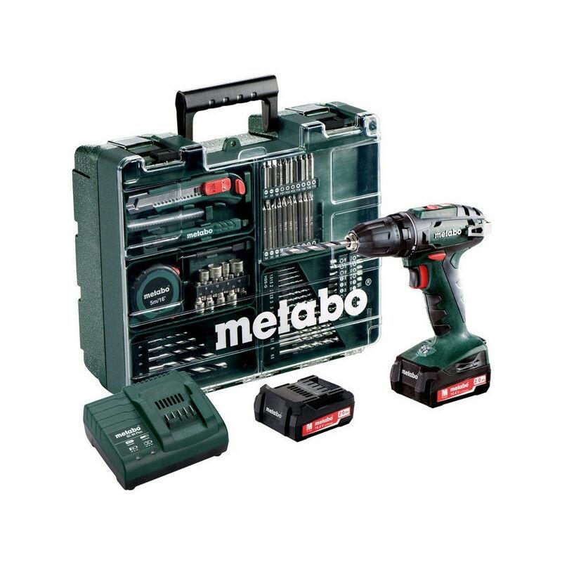 METABO Perceuse visseuse 14,4V 2Ah + 74 acc. BS14.4 Set - 602206880