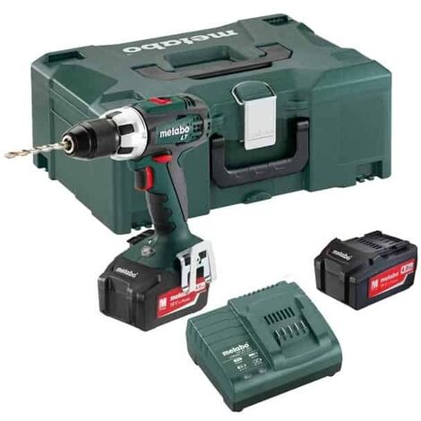 METABO Perceuse visseuse 18V 2x4Ah BS18LT - 602102500