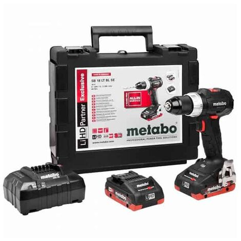 METABO perceuse visseuse percu 18V LiHD SB 18 LT BL SE -602368800