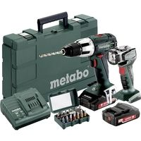 METABO Perceuse visseuse percussion 18V 2Ah SB18LT Set - 602103610