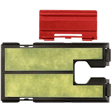 Metabo Plaque anti-rayures en plastique avec insert en toile rigide pour scie sauteuse, avec adaptateur pour rail de guidage - 623597000